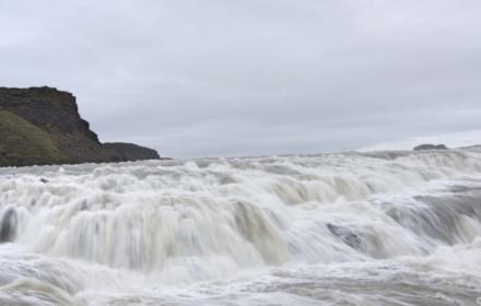 Gulfoss Waterfalls - Iceland