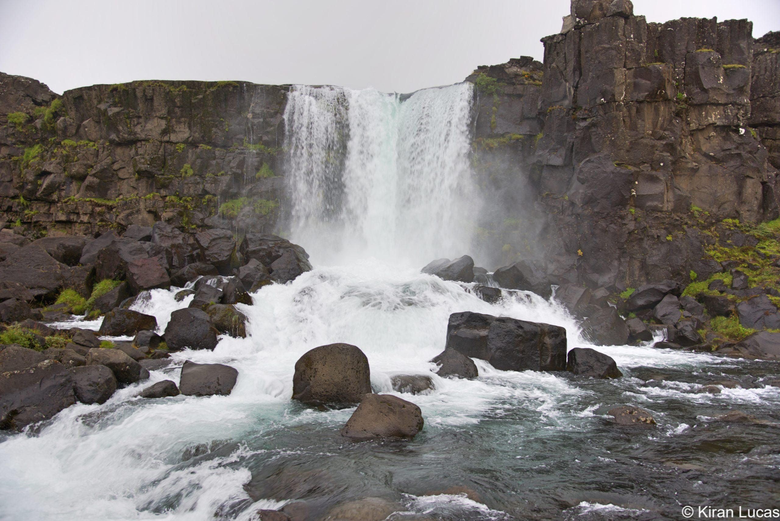 Oxararfoss Waterfalls - Iceland