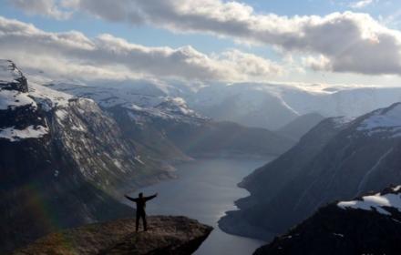 Trolltunga Fjords Norway