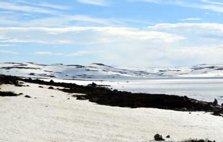 Snow En route to Trolltunga