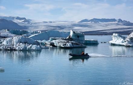 Jökulsárlón-Glacier Iceland